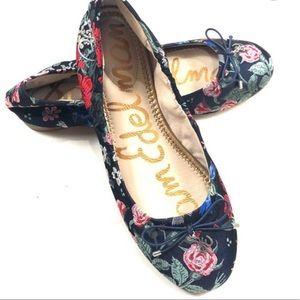 Sam Edelman Embroidered Felicia Flats